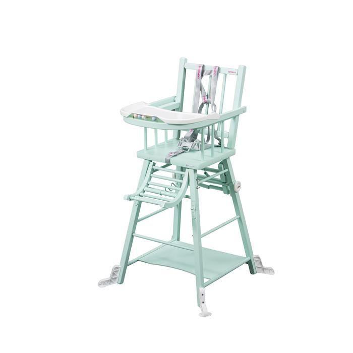 laque Haute vert COMBELLE Chaise mint MARCEL barreaux transformable QrtdoCBshx
