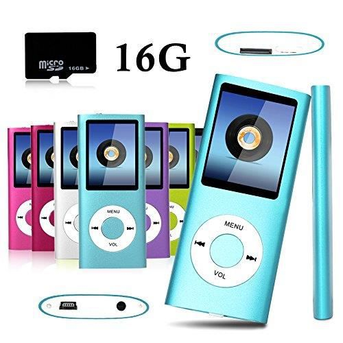 fulozo 16go micro sd carte lecteur mp3 mp4 lecteur player cran lcd 1 8 vid o radio musique. Black Bedroom Furniture Sets. Home Design Ideas