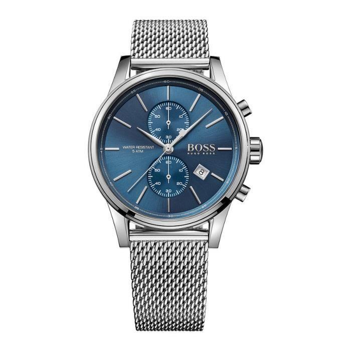 MONTRE Hugo Boss HB1513441 Blue Dial Stainless Steel Men'