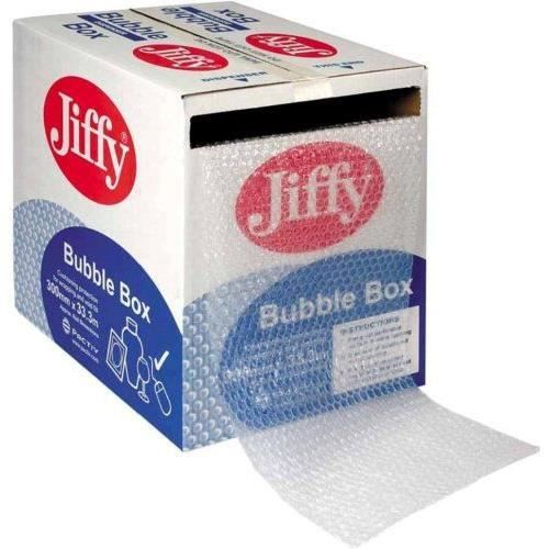 jiffy carton d vidoir papier bulle 300 mm x 50 m import. Black Bedroom Furniture Sets. Home Design Ideas