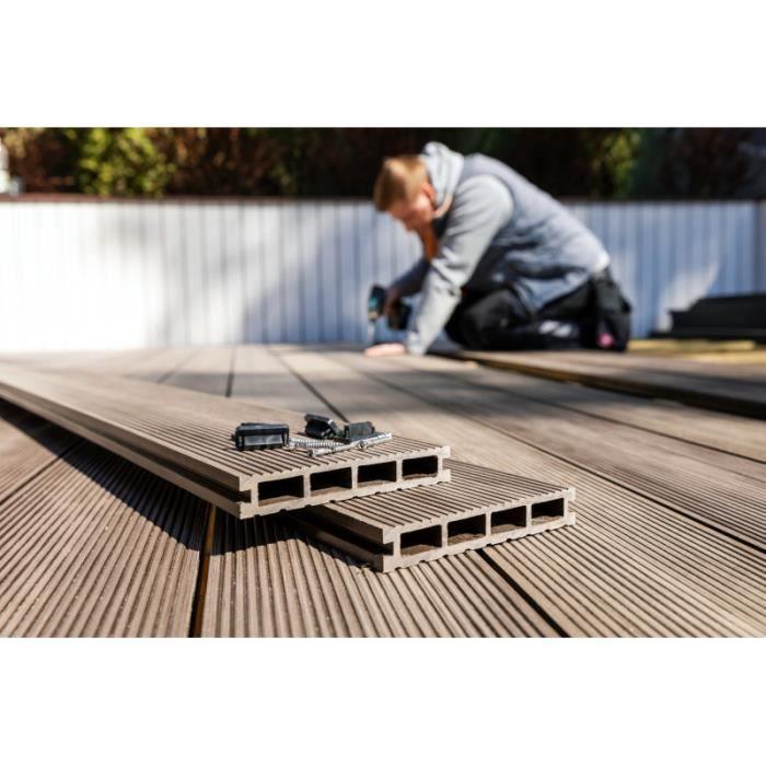 Lame De Terrasse Composite Chocolat