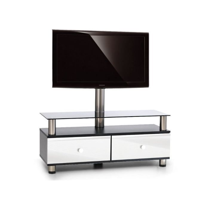 meuble tv design emax 02h bw 32 50 pouces achat vente meuble tv meuble tv design emax 02h. Black Bedroom Furniture Sets. Home Design Ideas