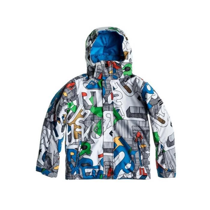 parka de ski quiksilver mission achat vente blouson manteau quiksilver mission youth. Black Bedroom Furniture Sets. Home Design Ideas