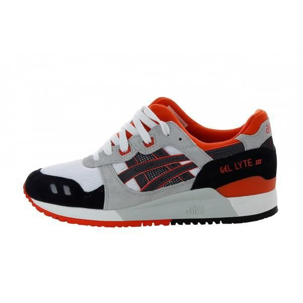 asics gel lyte 3 orange et noir. Black Bedroom Furniture Sets. Home Design Ideas