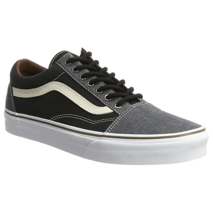 2 Vans Skool 1 Taille 44 Men's Trainers 3ncz3m Old Y6ygbf7
