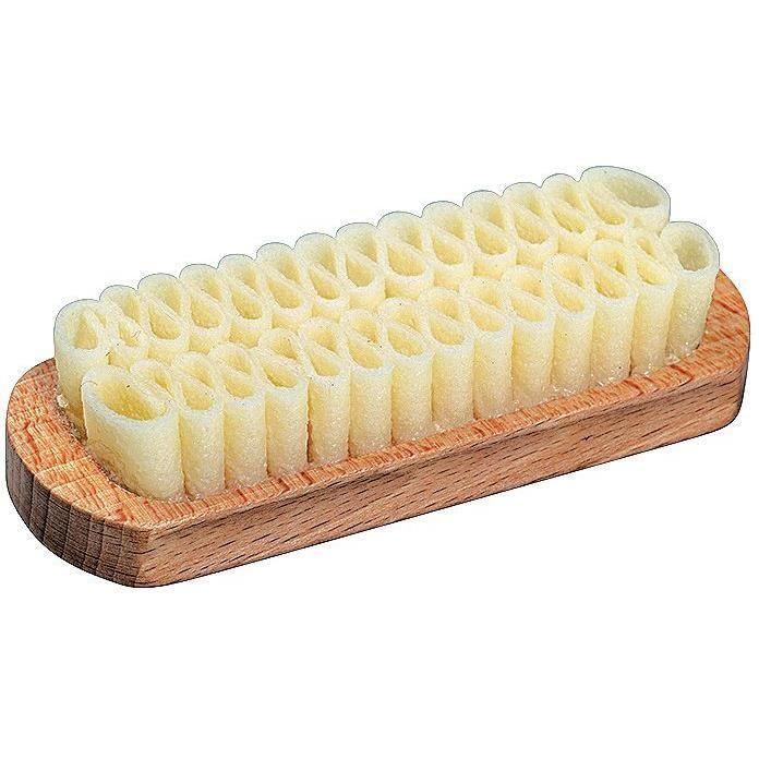 brosse cuir suède