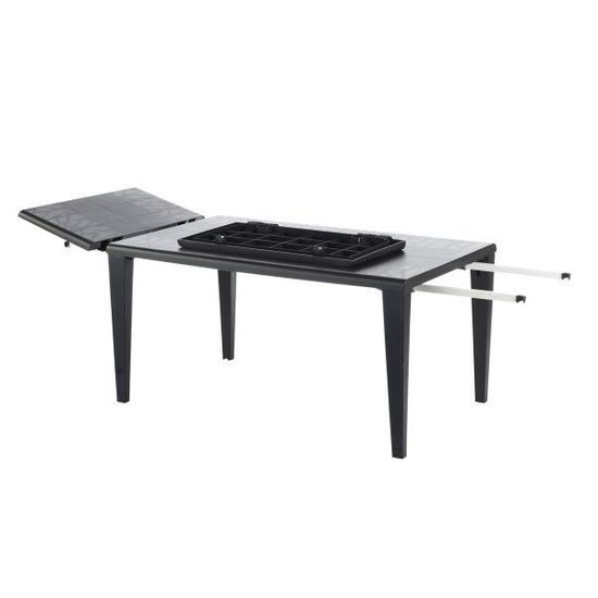 Table de jardin Alpha 240 GROSFILLEX - Blanc - Achat / Vente ...