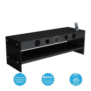 SoundVision SoundStand300 Meuble TV HiFi Bluetooth