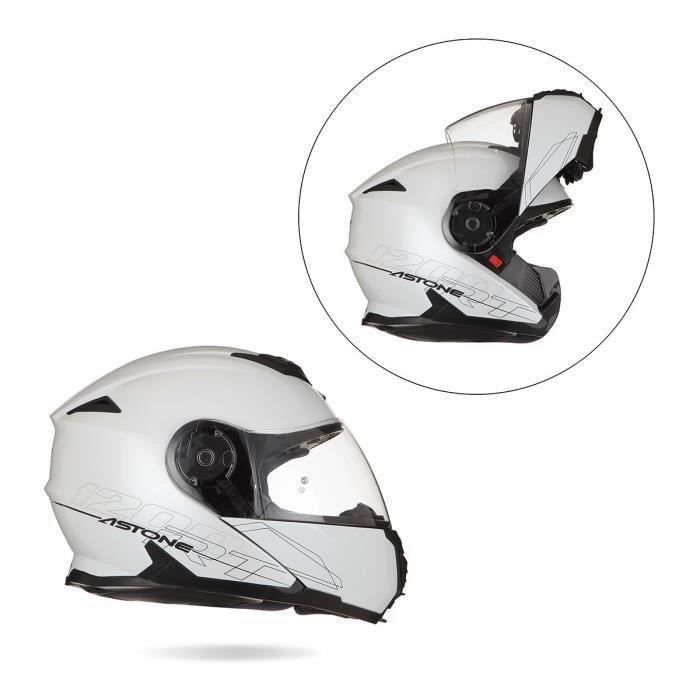ASTONE RT1200 Casque Modulable Blanc
