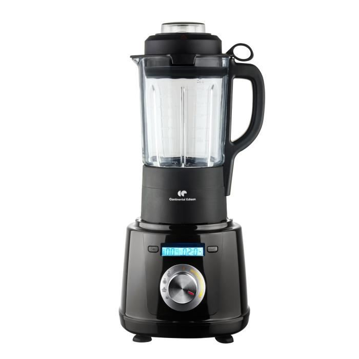 CONTINENTAL EDISON BC1000B Blender chauffant - 1000 W - 1.75 litre -noir