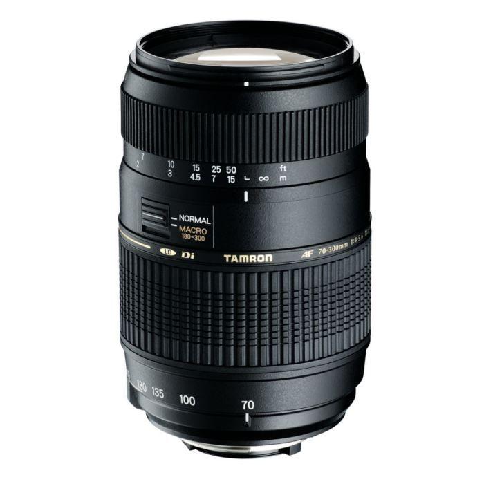 TAMRON AF 70-300 mm/f4-5.6 DiII LD Macro 1/2 CANON - Pour appareil photo numérique Reflex