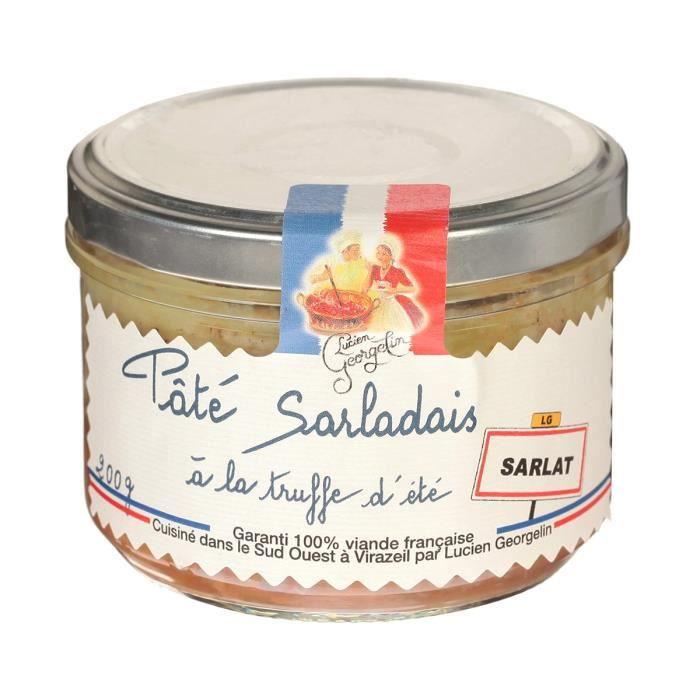 LUCIEN GEORGELIN Pâté Sarladais à la Truffe d'Eté Sarlat - 200 g