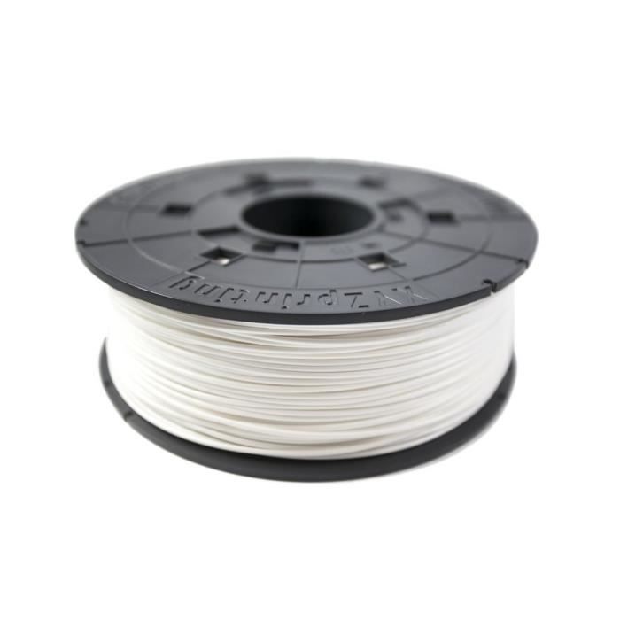 Xyz Printing Consommable 3D Filaments Abs Da Vinci Blanc 600g