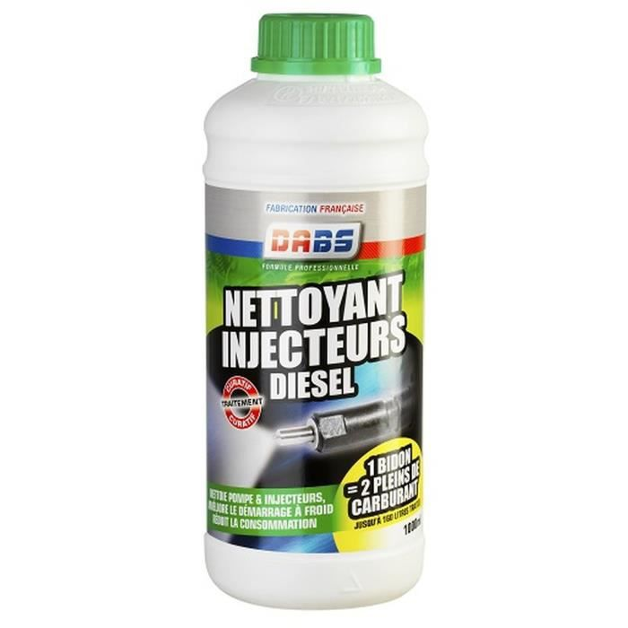 DABS Additif carburant nettoyant injecteurs diesel - 1l