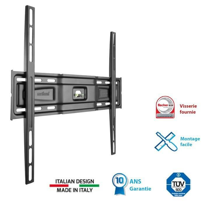MELICONI 400 S Support TV mural fixe slim 40-55\