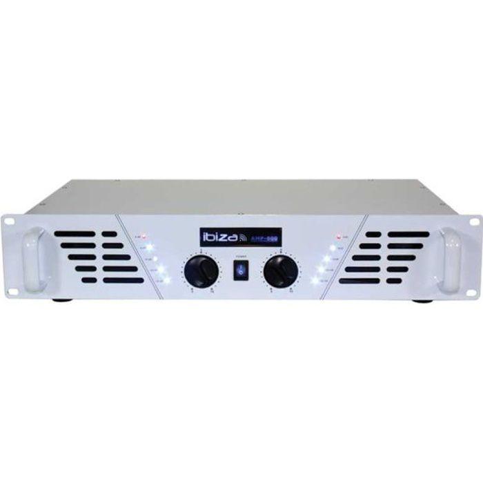 IBIZA SOUND AMP-600 WH