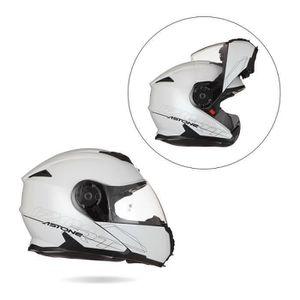 CASQUE MOTO SCOOTER ASTONE RT1200 Casque Modulable Blanc