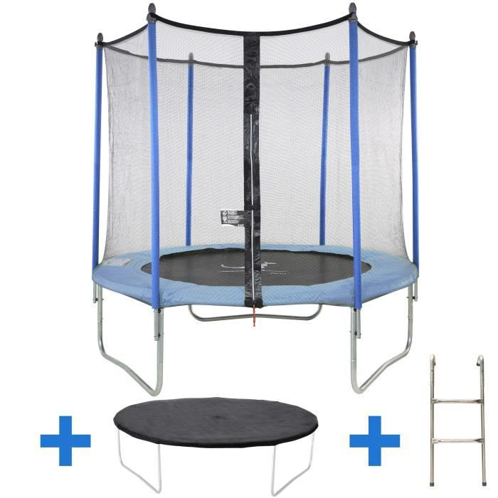 kangui mega pack trampoline 305 cm avec accessoires twin. Black Bedroom Furniture Sets. Home Design Ideas