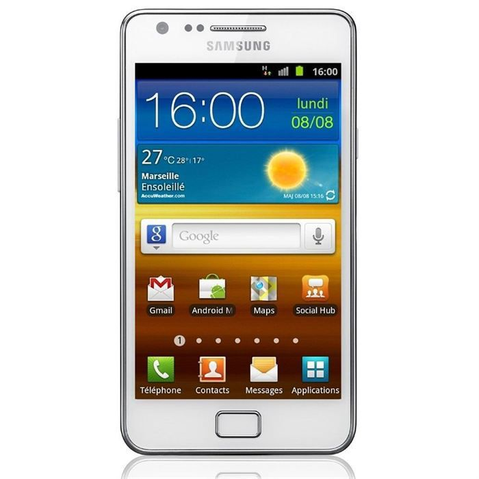 samsung galaxy s2 i9100 achat smartphone pas cher avis. Black Bedroom Furniture Sets. Home Design Ideas