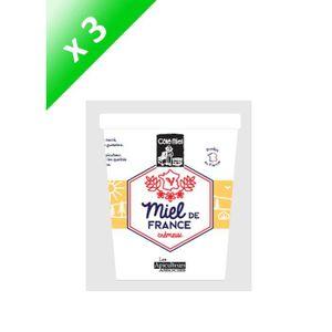 MIEL COTE MIEL Miel de France - Crémeux - 500 g x 3