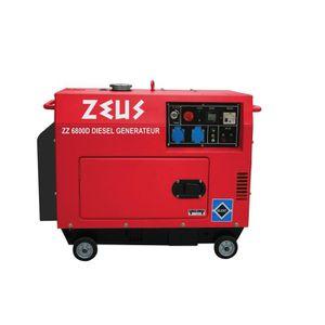 GROUPE ÉLECTROGÈNE ZEUS Groupe électrogène diesel silencieux 5000W  Z