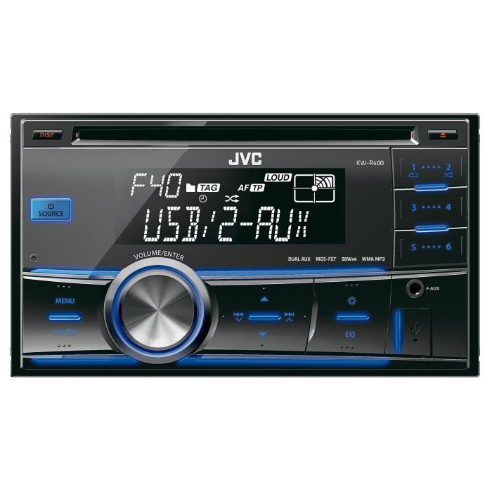 jvc kw r400e autoradio 2 din cd usb aux achat vente autoradio jvc kw r400e autoradio. Black Bedroom Furniture Sets. Home Design Ideas