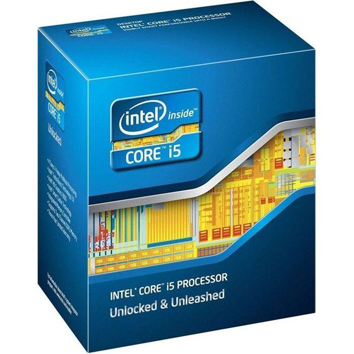 PROCESSEUR Intel® Core™i5 2500K SandyBridge