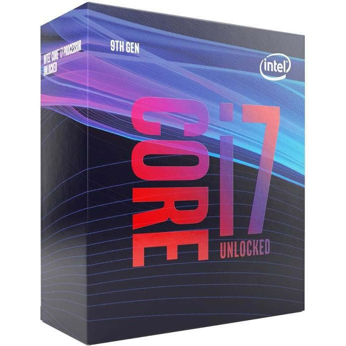 PROCESSEUR Processeur Intel bx80684i79700k Core i7 9700K 3,6