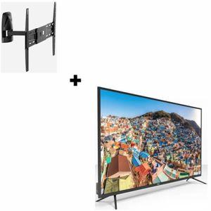 Téléviseur LED CONTINENTAL EDISON TV 55' (139cm) 4K UHD+ MELICONI