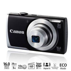 APPAREIL PHOTO COMPACT CANON A2500 Compact Noir - 16 MP Zoom 5x