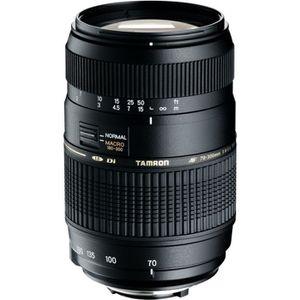 OBJECTIF TAMRON AF 70-300mm /f4-5.6 Di LD Macro 1/2 NIKON -