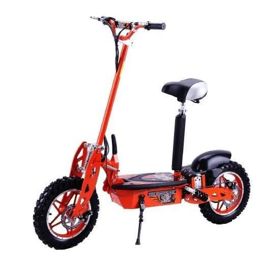 trottinette electrique cross 1000w orange achat vente. Black Bedroom Furniture Sets. Home Design Ideas