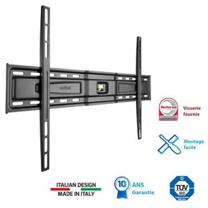 FIXATION - SUPPORT TV MELICONI 600 S Support TV mural fixe slim 50-80