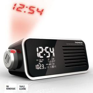 Radio réveil THOMSON CP300T Radio réveil numérique