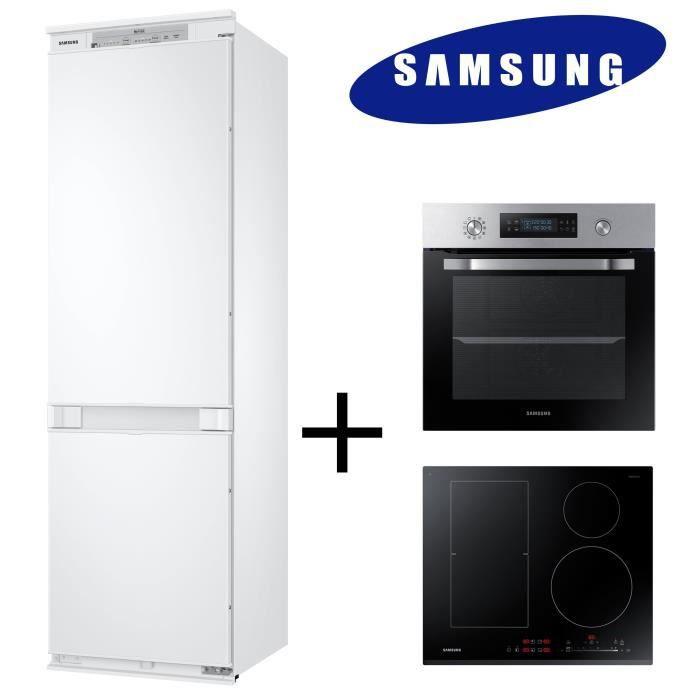 Pack Cuisson Froid Samsung Brb260000ww Refrigerateur 268 L Nv66m3571bs Four Electrique Nz64k5747bk Plaque Induction Achat Vente Refrigerateur Classique Cdiscount