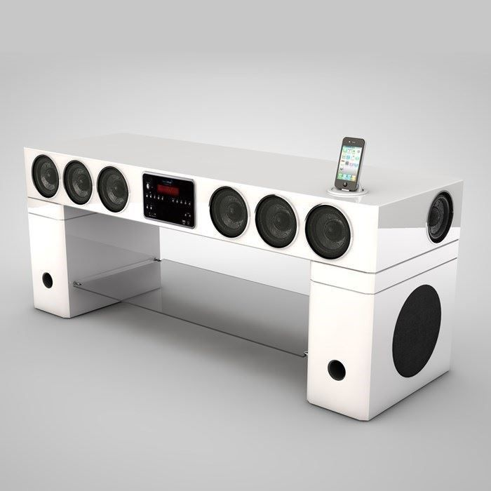 soundvision sv400w meuble home cinema meuble hifi int gr e avis et prix pas cher cdiscount. Black Bedroom Furniture Sets. Home Design Ideas