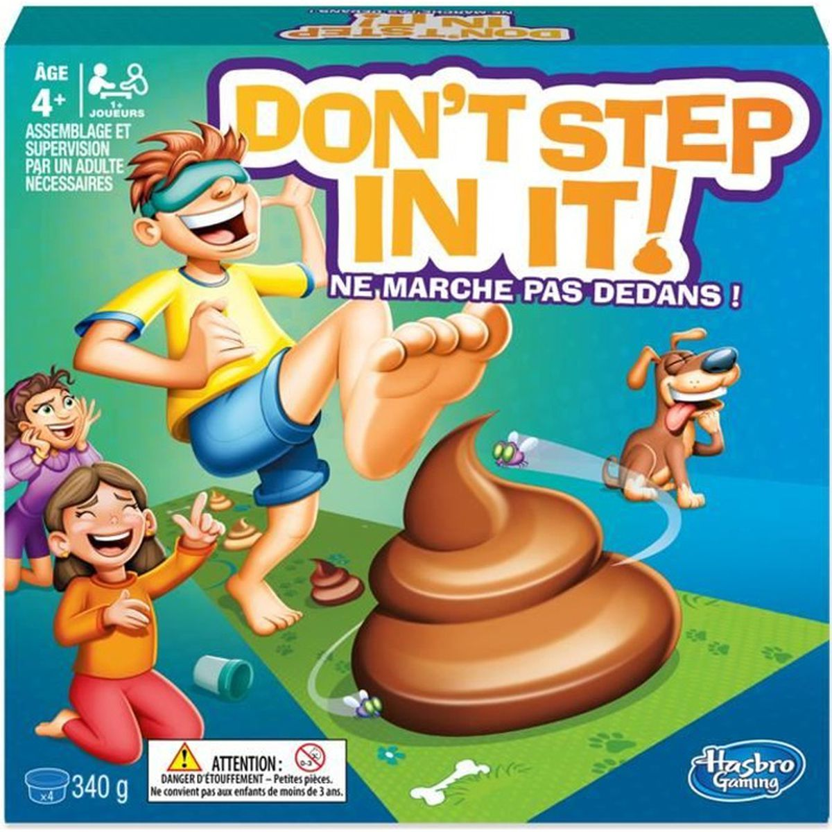 JEU SOCIÉTÉ - PLATEAU HASBRO GAMING - Don't Step in it ! Ne marche pas d