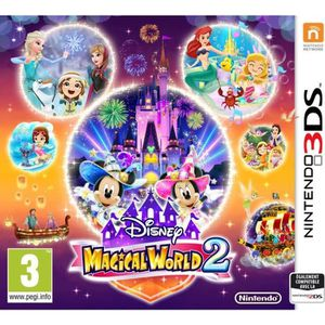 JEU 3DS Disney Magical World 2 Jeu 3DS