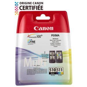CARTOUCHE IMPRIMANTE Canon cartouches PG-510 B/C/M/Y Pack couleurs