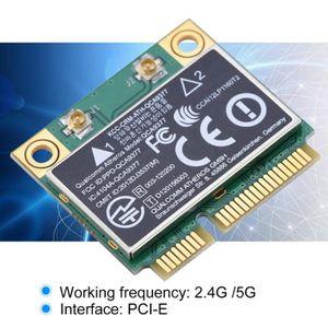 CARTE RÉSEAU  MILLIONTEK Carte réseau 2.4G - 5Ghz mini-carte san