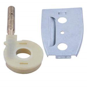 Guide de pompe /à huile Bar Kit de plaque pour 50 51 55 Husqvarna Rancher Chainsaw 501 77 7601 Accessoires de remplacement