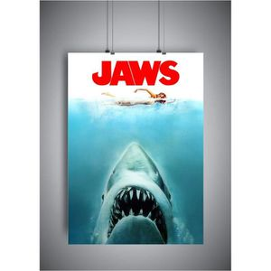 JAWS Key Art 61 x 91.5cm Poster NEW AND SEALED