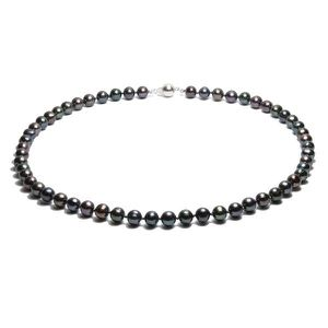 SAUTOIR ET COLLIER Collier Perles 41 cm Noir F