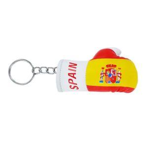 PORTE-CLÉS Porte cles  gant de boxe drapeau espagne