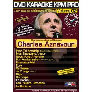 DVD MUSICAL DVD Karaoké KPM Pro Vol.02