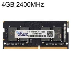 MÉMOIRE RAM Memoire Pc - Portable - Vaseky 4 Go 2400MHz PC4-19