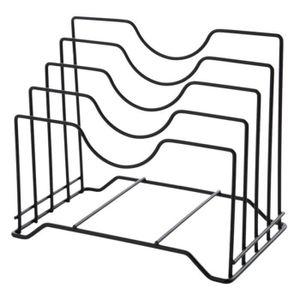 SET ACCESSOIRE CUISINE HT Support de Couvercle Rangement Couvercle Pan Ar