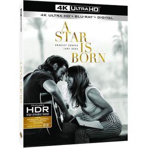 BLU-RAY FILM a star is born blu ray 4k ultra hd + blu ray 2019