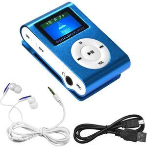 LECTEUR MP3 Mini Lecteur Baladeur ECRAN LCD mp3 Sport Player B