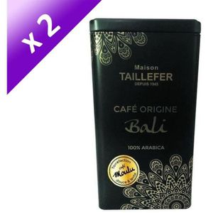 CAFÉ CAPSULE [LOT DE 2] MAISON TAILLEFER Café Origine Bali 250g